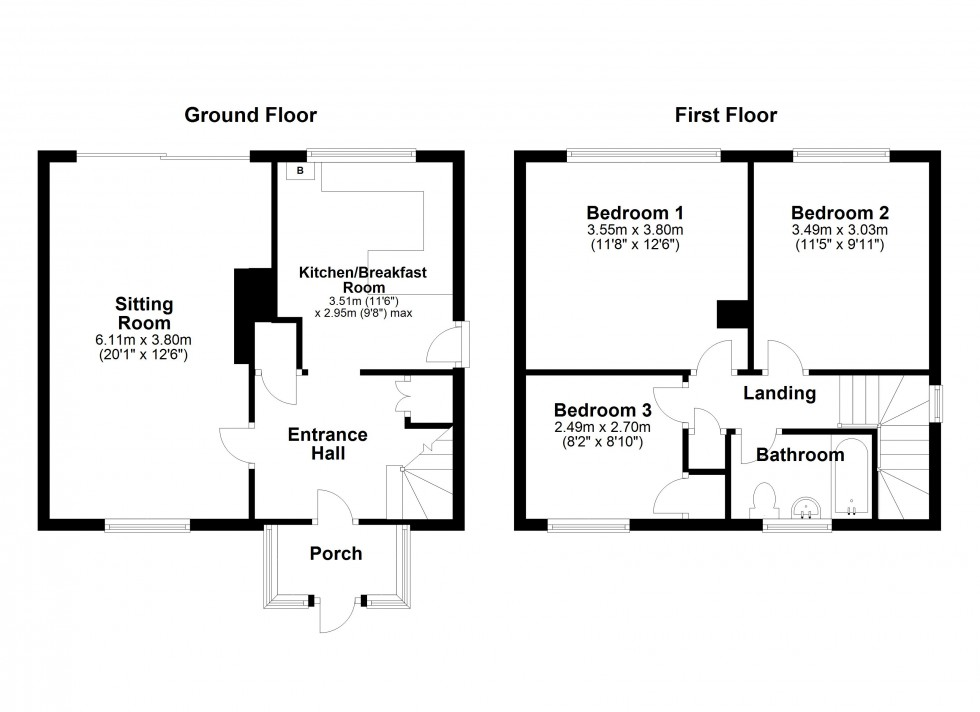 Floorplan for Great Bradley, Newmarket