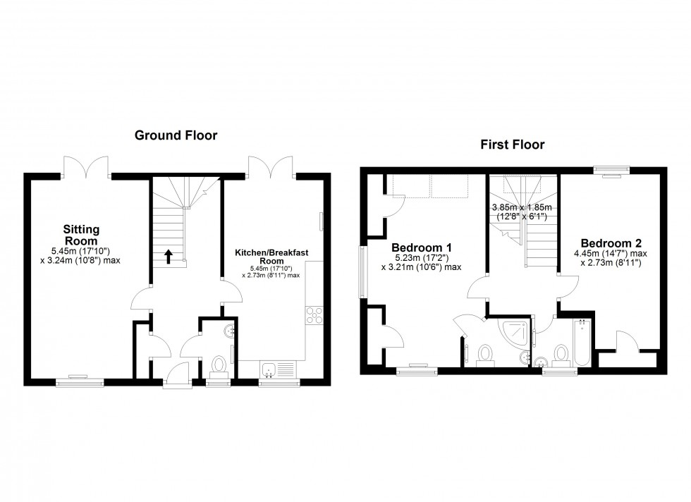 Floorplan for Mill Hill, Newmarket